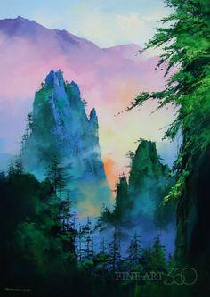 Mountain Haze | Thomas Shu Pong Leung | Fine Art 360