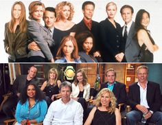 then and now - Ally McBeal Tv Show Family, Family Movie Night, Lisa Nicole Carson, Cat Grant, Ally Mcbeal, Mad Women, Star Wars Film, Great Tv Shows, Romantic Movies
