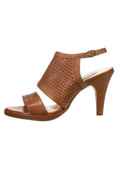 KIOMI High heeled sandals - brown - Zalando.co.uk