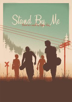 first tribute show celebrating the work of Stephen King. Including various artworks inspired by his books and adapted stories. Stand By Me Gig Poster, Movie Poster Art, Film Posters, Poster Prints, Poster Wall, Singer Songwriter, Movies And Series, River Phoenix, Indie