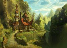 ArtStation - 여행자의 집, KKS ~