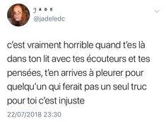Some Quotes, Tweet Quotes, Citations Instagram, Love Text, Father Quotes, French Quotes, Bad Mood, True Facts, Pretty Words