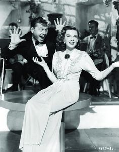 A still of Mickey and Judy from Words and Music, 1948.