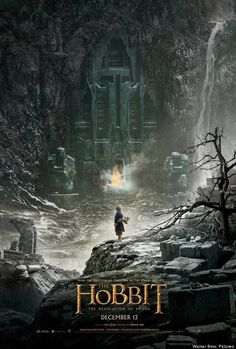 Cool new teaser poster for The Hobbit: The Desolation of Smaug