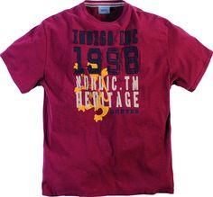 Tee-shirt allsize composé de Coton 100% Très beau coloris wine (rouge vin 89a39def16a9