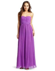 Look what I found on My Fashion Light Lavender Ruched Strapless Dress - Women by My Fashion Mint Bridesmaid Dresses, Red Bridesmaids, Prom Dresses, Formal Dresses, Bridesmaid Ideas, Evening Dresses, Chiffon Gown, Fashion Lighting, Purple Dress