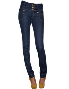 Medium High Waist 3 Button Front Resin Style Skinny Fit - 98% Cotton 2% Spandex, Great Details Great Fit. Shop by price, color, and more. Get the best sales for luxury designer jeans. Denim Secret sells only luxury denim designed by Maxime Cossoguy.