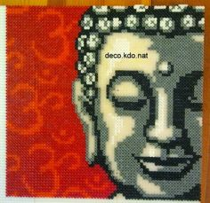 DECO.KDO.NAT: Perles hama: tableau bouddha
