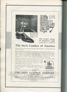 #1920s #shoes #oldads #history #stlouis #stl #fashionhistory