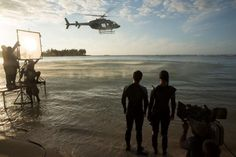 New Catching Fire behind the scenes picture.