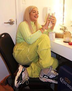 "LILY ALLEN on Instagram: ""SHOW 15: #NOSHAMEUSA 🚫🙈"" Lily Allen Instagram, Stage Outfit, Lilly Allen, Lily Lily, Music People, Blonde Women, Celebs, Celebrities, Green Eyes"
