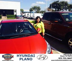 https://flic.kr/p/zPc12z | Huffines Hyundai Plano Customer Review | It was the most pleasurable experience I have ever had at a car dealership the staff the people were very kind very understanding I would recommend them to anyone I'm very happy and satisfied with my purchase.  THELMA, deliverymaxx.com/DealerReviews.aspx?DealerCode=H057&R...