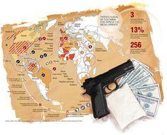 Tráfico Ilegal de Colombia con África y el Medio Oriente #Población