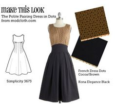 Matches sewing patterns to store bought outfits. Great resource!