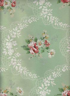 Vintage Floral Background ~ LÁMINAS ANTIGUAS 3-Ideas y Trabajos terminados (pág…