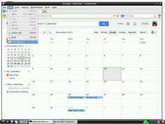 Raspberry Pi Wall Mounted Google Calendar by Piney