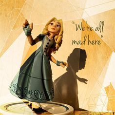 Falling down the rabbit hole... #disney #disneyinfinity3 #alice #aliceinwonderland