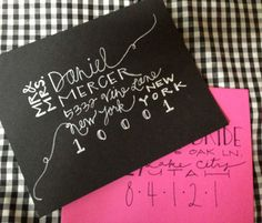 Items similar to Graduation Announcements Custom Calligraphy for Envelope Addressing Invitations on Etsy