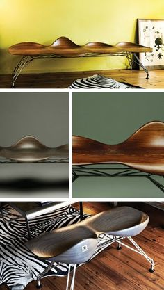 Mountain Diva /  a gorgeous bench designed by Jordi Milá.