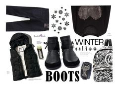 """""""Winter Boots- Bhalo"""" by katarina-blagojevic ❤ liked on Polyvore featuring Isabel Marant, Abercrombie & Fitch, Moschino, Kendra Scott, Été Swim, beautifulhalo, bhalo and bhalo2"""