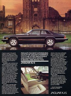 Jaguar XJS... my baby looked like this but with more chrome if that is possible :0)