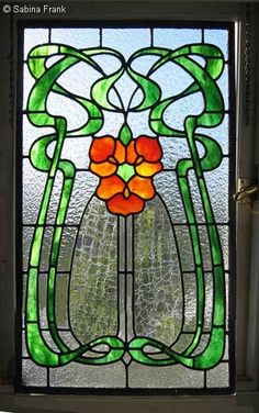 Hearty 19th C Antique Victorian Window Stained Glass Fleur as-is Have 14 Fix De Lis
