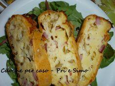 Torta salata con prosciutto e olive| ricetta francese |  -by pri