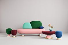 Toadstool Collection by Masquespacio for Missana