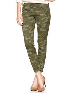 Skinny camo pants - Gap