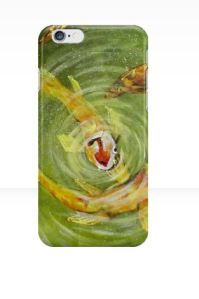 Koi iPhone Case...nice!  #StockingFillers #Christmas2015
