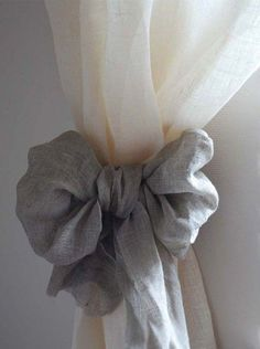 Love the curtain styling for shabby chic decor accent @istandarddesign #shabbychickitchendiy