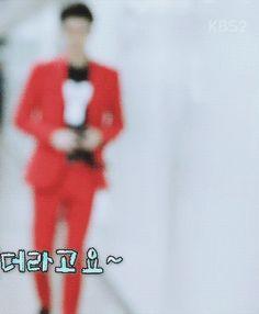 "wooyoung: "" ""sehun's way of walking"" """