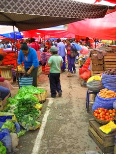 Market in Tarija, Bolivia.