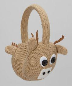 Capelli New York Camel Reindeer Earmuffs Animal Heads, Earmuffs, Headgear, Reindeer, Camel, Whimsical, Scarves, Take That, York