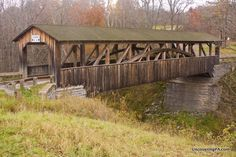 UncoveringPA | Visiting the Last Covered Bridge in Bradford County, Pennsylvania - UncoveringPA