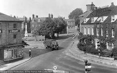 Swaffham, Market Place c1955