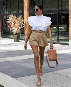 Elegant Summer Outfits, Elegant Outfit, Classy Outfits, Stylish Outfits, Spring Outfits, Fashion Outfits, Womens Fashion, Fashion Trends, Fashion Tips