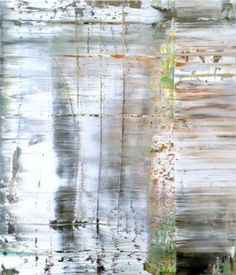 Gerhard Richter. Abstract painting. Oil on canvas. 122 x 102 cm. 1990. Last auctioned in 2000 for $310,500