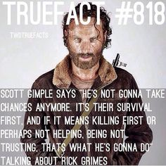 TWD True Fact #818 about The Walking Dead season 5
