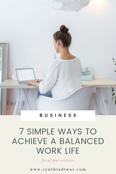 Do you work from home? This blog post will help you find balance in your busy work schedule and be productive. From batch-working to taking vacations. I share all my tips with you so you don't get burned out. Read now!