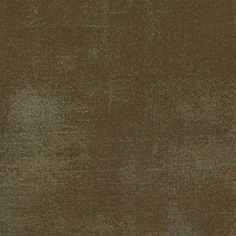 By HALF YARD Moda GRUNGE BASICS Brown 30150-54 Quilting Cotton Sewing Fabric