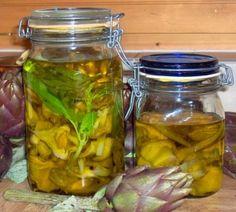 Canned Artichokes - Carciofi o carciofini sott'olio