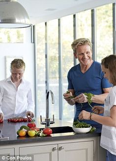 Gordon Ramsay's ultimate home cooking. Plougmans salad and beer loaves and other recipes