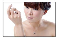 9月の誕生石 ブルーサファイア リング(指輪) リッチな上品セレブ気分 jewel-link9-020WSS