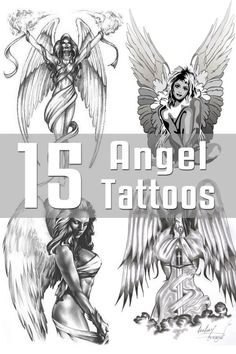 Angel Tattoo Designs - The Body is a Canvas