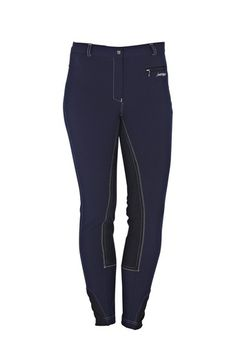 These woven full seat breeches offer style and elegance at a great price. Featuring a front zip pocket to keep your small items secure whilst being active. Perfect for everyday and competition wear, these breeches are made from very stretchy and comfortable fabric giving you all the movement you need whilst in the saddle. Features soft and close fitting fabric around the ankle for maximum comfort and reduced bulk.