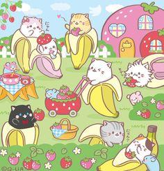 Nyan Nyan, Kawaii Cat, Ayato, Kawaii Wallpaper, Japanese Culture, Aesthetic Wallpapers, Tattoo Drawings, Neko, Cat Lovers