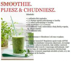 Smoothie - PIJESZ Smoothie Drinks, Smoothie Diet, Detox Drinks, Fruit Smoothies, Easy Healthy Smoothie Recipes, Detox Plan, Warm Food, Juice Cleanse, Wellness