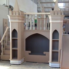 Luxury Girls Princess Castle Bed - Made to Measure