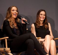 Minka Kelly and Leighton Meester promote The Roommate